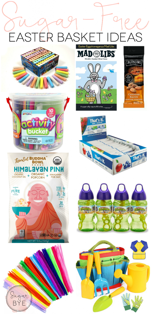 Sugar Free Easter Basket Ideas