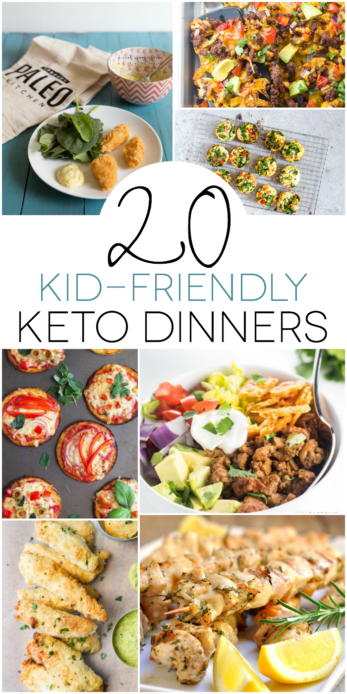 20 Kid-friendly Keto Dinners