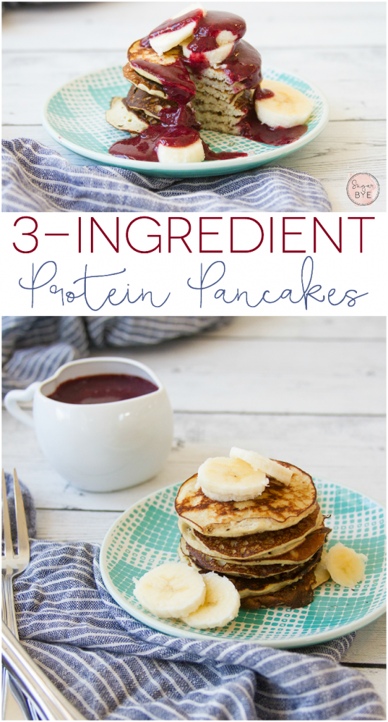 3-Ingredient Protein Pancakes