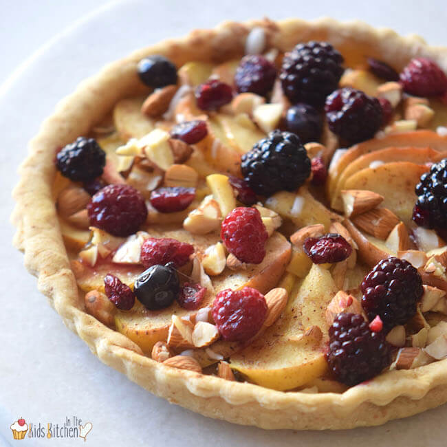 Gluten-Free Apple Berry Pie