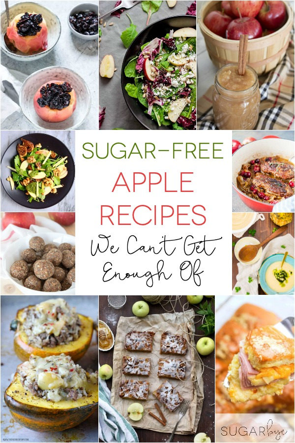 Sugar-Free Apple Recipes We Can't Get  Enough Of