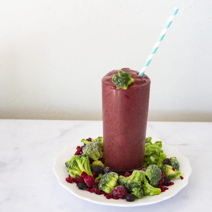 Berry Broccoli Smoothie